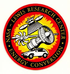 NASA Lewis Research Center Decal #1